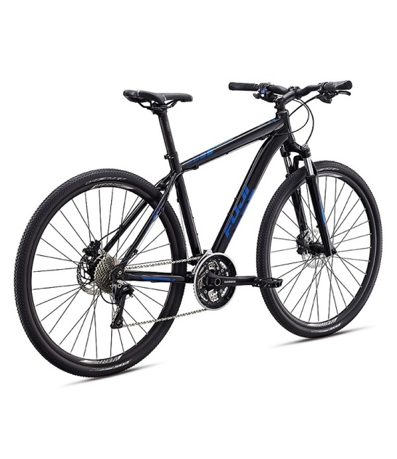 Fuji Traverse 1.1 Disc Sport Hybrid Bike - 2017 Path & Pavement Bikes