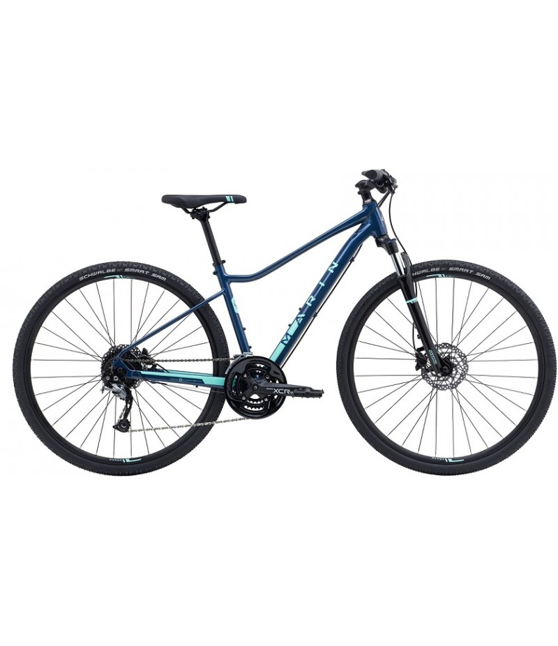 Marin San Anselmo DS3 Women's Sport Hybrid Bike - 2018 Path & Pavement Bikes