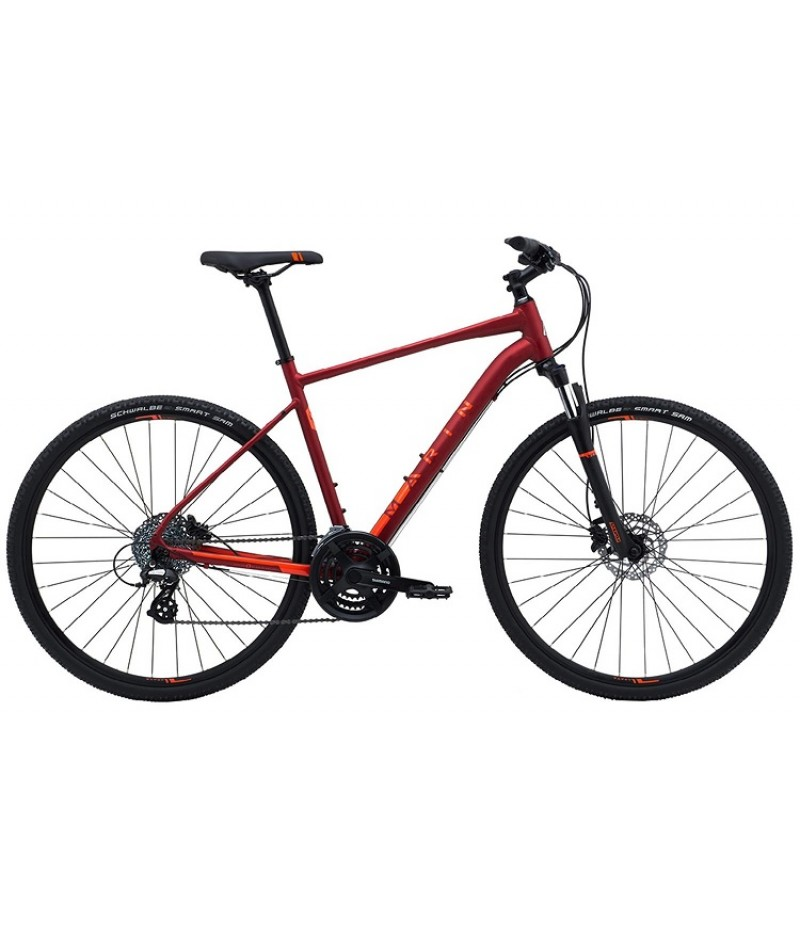 Marin San Rafael DS2 Sport Hybrid Bike - 2018 Path & Pavement Bikes