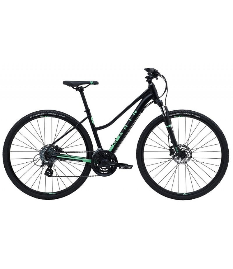 Marin San Anselmo DS2 Women's Sport Hybrid Bike - 2018 Path & Pavement Bikes