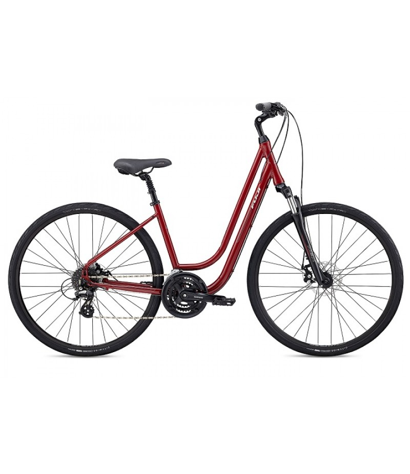 Fuji Crosstown 1.3 Disc Women's Comfort Bike - 2018 Path & Pavement Bikes