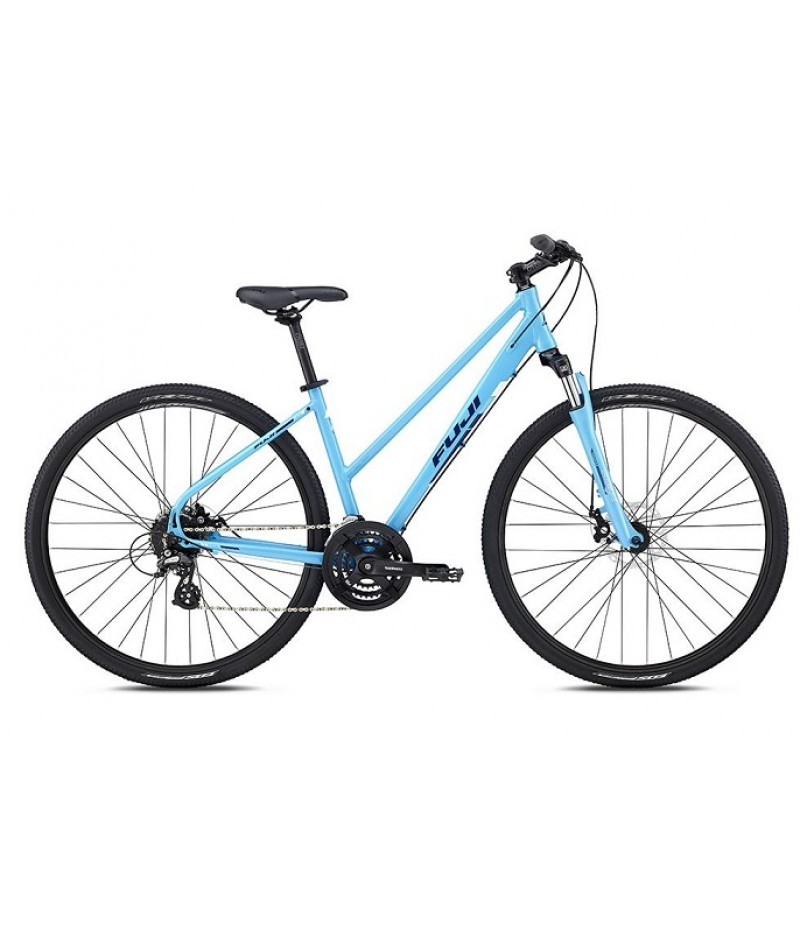 Fuji Traverse 1.7 Disc Women's Sport Hybrid Bike - 2018 Path & Pavement Bikes