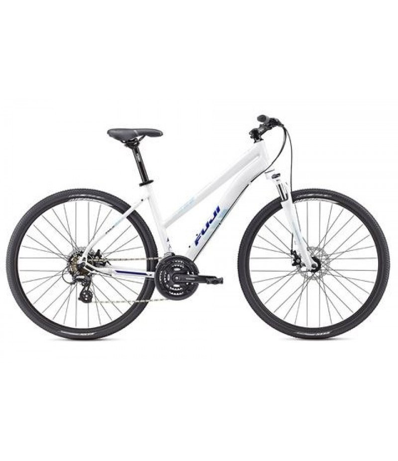 Fuji Traverse 1.7 Disc Women's Sport Hybrid Bike - 2017 Path & Pavement Bikes