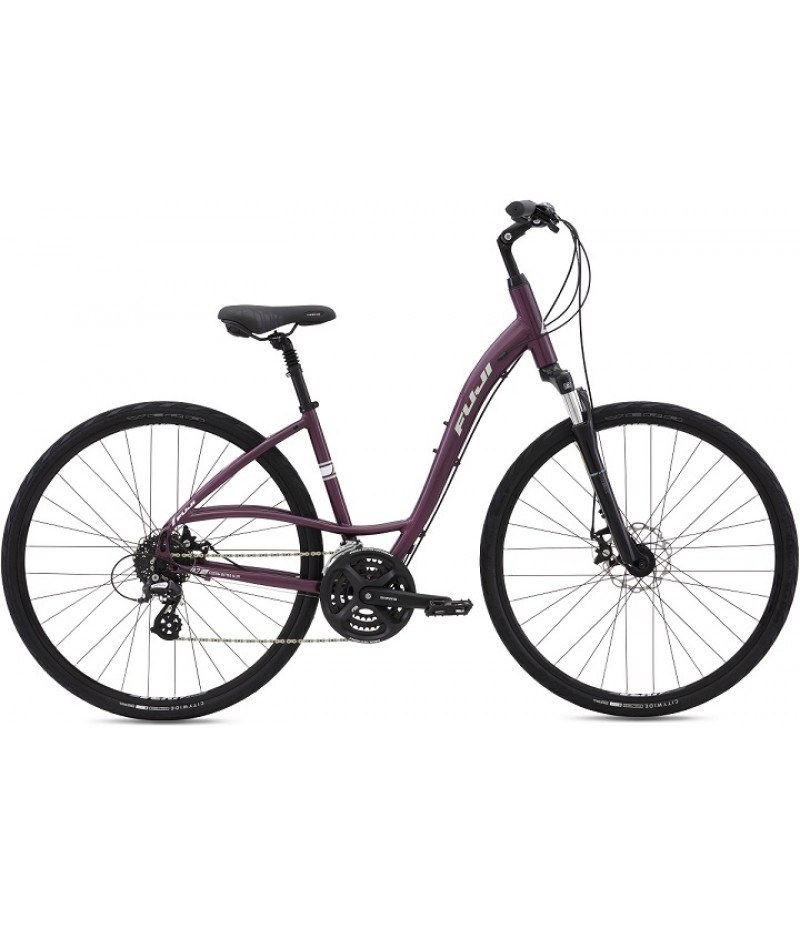 Fuji Crosstown 1.3 Disc LS Women's Comfort Bike - 2016 Path & Pavement Bikes