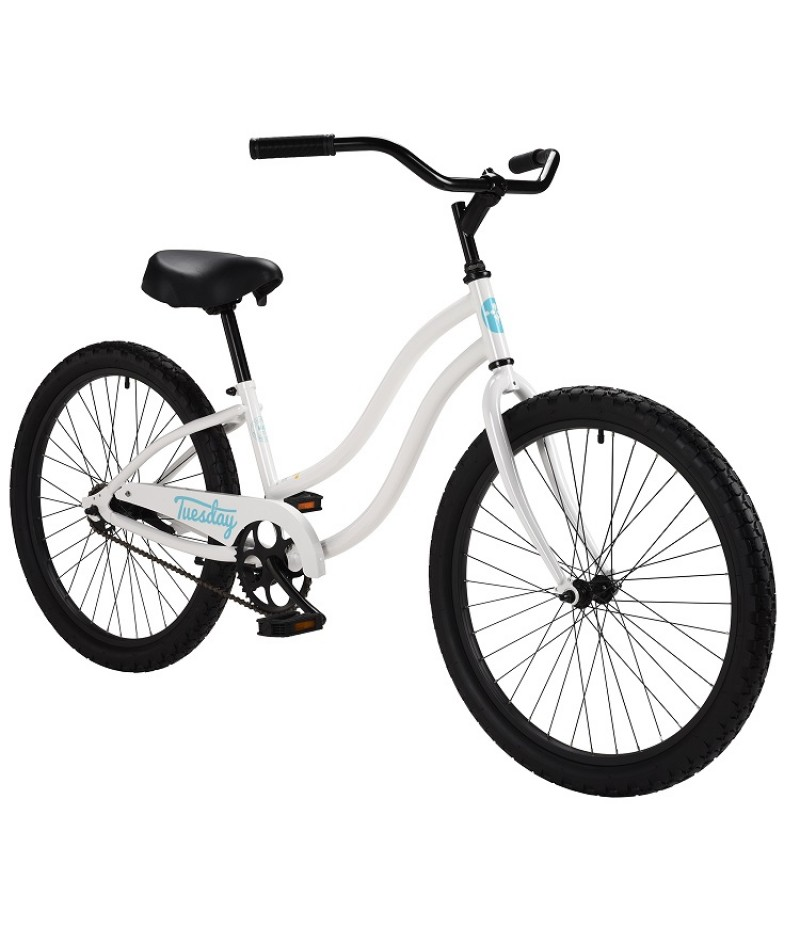 "Tuesday Bikes May 1 Women's 24"" Beach Cruiser Path & Pavement Bikes"