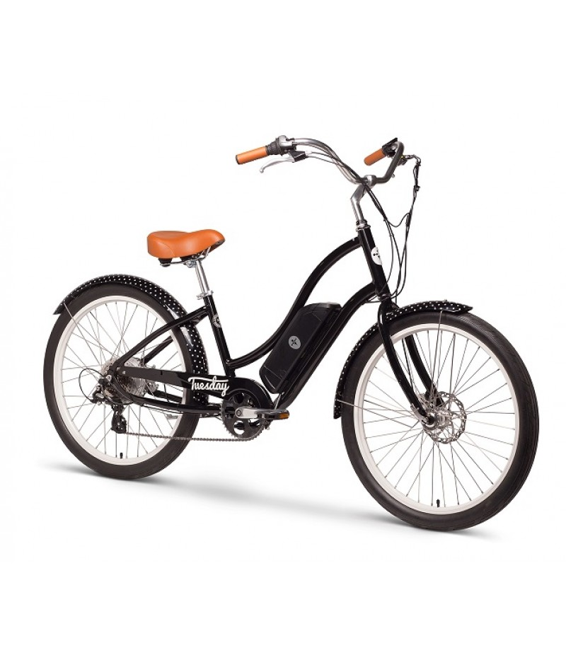 Tuesday August Live! Cruiser Low-Step e-Bike E-Bikes