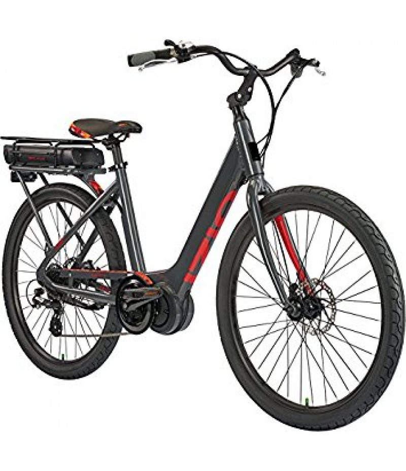 IZIP E3 Vibe Plus Step-Thru Electric City Bike -- 2018 E-Bikes