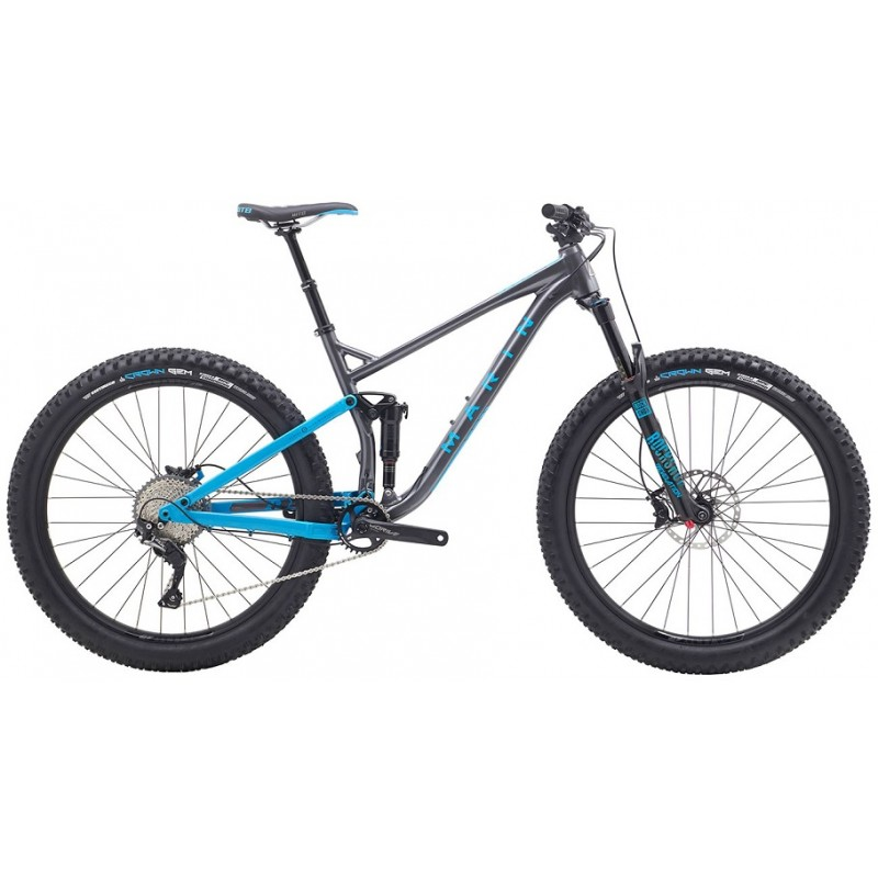 Marin B17 2 Full-Suspension Mountain Bike - 2018