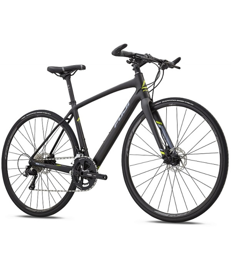 Fuji Silhouette Women's Flat Bar Carbon Road Bike - 2018 Road Bikes