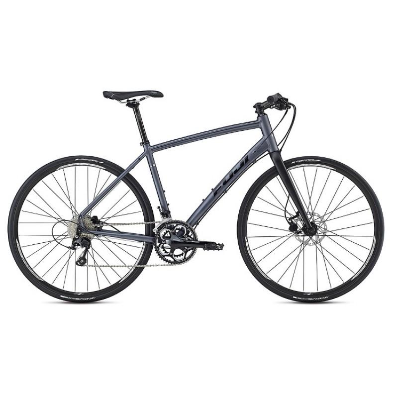 Fuji Absolute 1.1 Disc Flat Bar Road Bike - 2017
