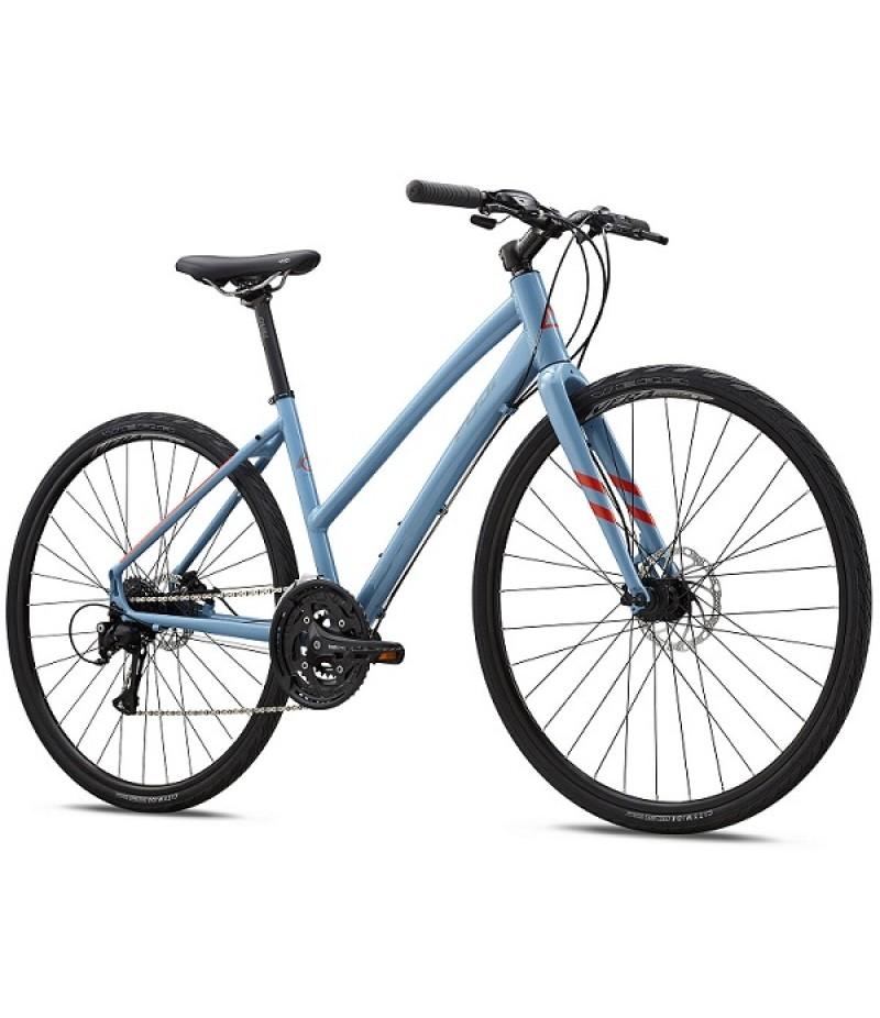 Fuji Absolute 1.7 Disc Flat Bar Women's Road Bike - 2017