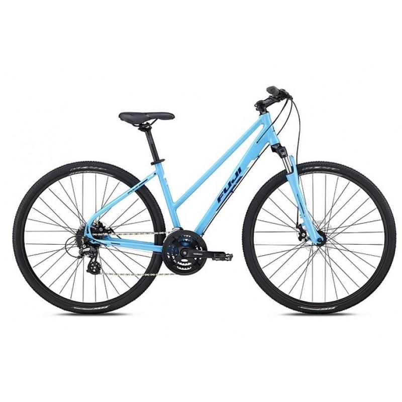 Fuji Traverse 1.7 Disc Women's Sport Hybrid Bike - 2018