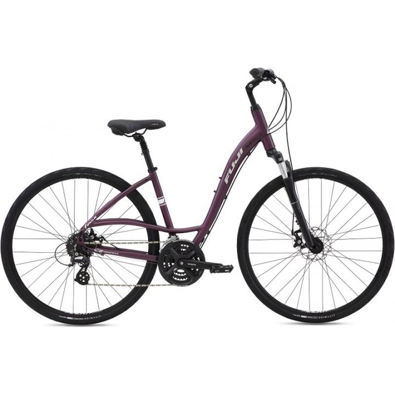 Fuji Crosstown 1.3 Disc LS Women's Comfort Bike - 2016