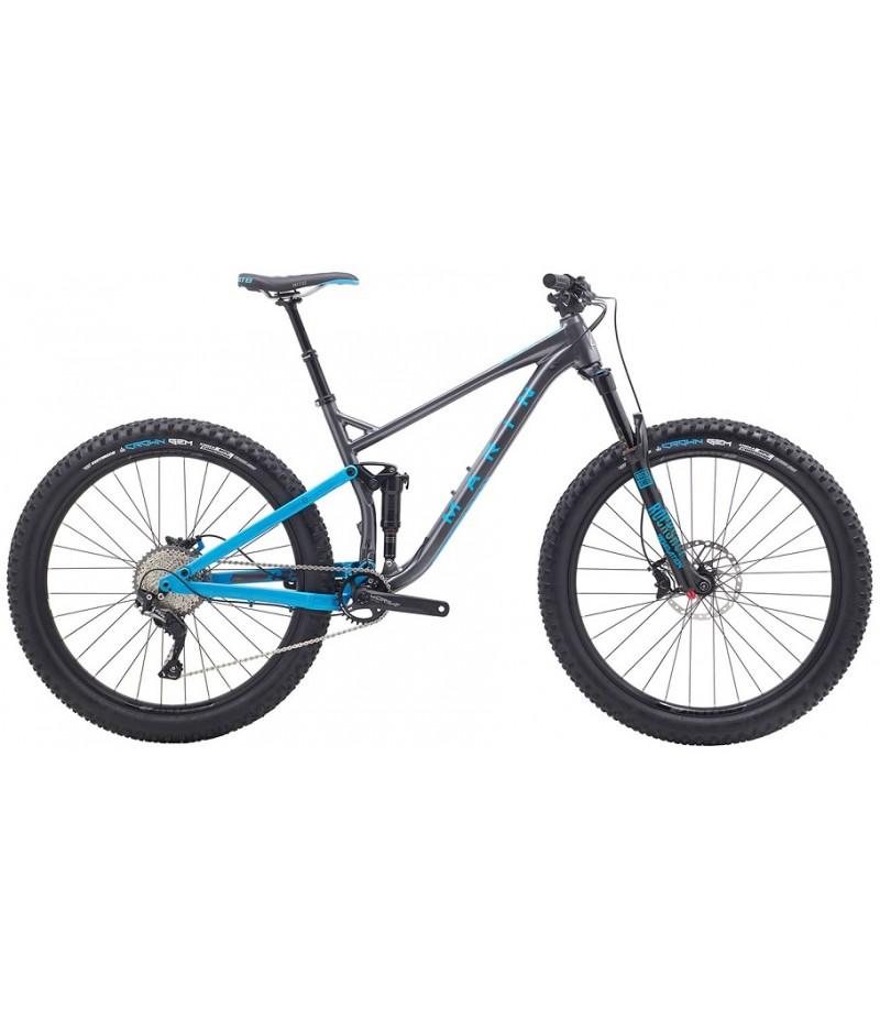 Marin B17 2 Full-Suspension Mountain Bike - 2018