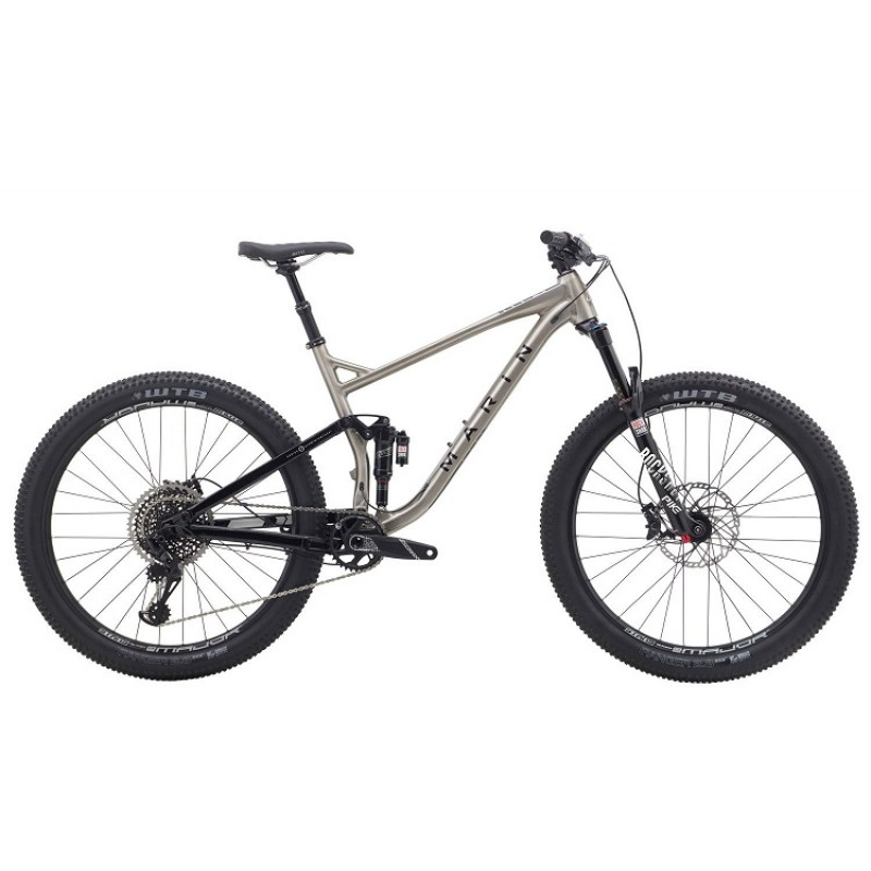 Marin B17 3 Full-Suspension Mountain Bike - 2018