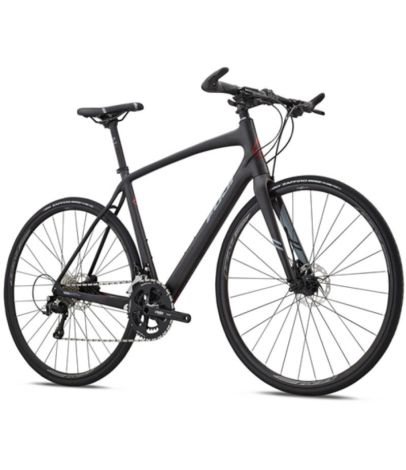 Fuji Absolute Carbon Disc Flat Bar Road Bike - 2018