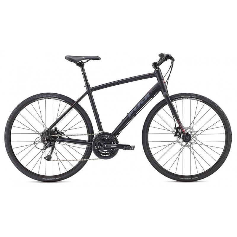 Fuji Absolute 1.9 Disc Flat Bar Road Bike -2018